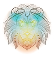 Lion tribal ethnic animal vector image