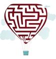 Balloon Maze vector image vector image