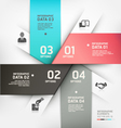 Abstract Business circle banner vector image