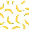 banana pattern vector image