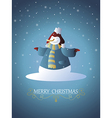 Christmas card 07 vector image vector image