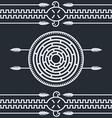 native ethnic art symbol vector image