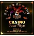 Joker Poker vector image