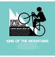 King Of The Mountains vector image