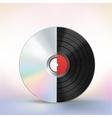 disc evolution vector image