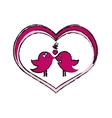 Love and romanticism vector image
