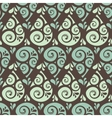 Swirl drop seamless pattern background vector image