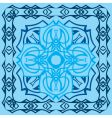 decorative tile vector image
