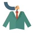 Premium suit vector image