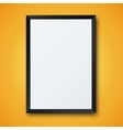 modern frame with shadow vector image vector image