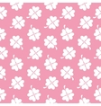 Abstract Natural Clover Seamless Pattern vector image