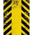 Hazard stripes in Grunge style EPS 8 vector image