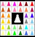 pyramid sign felt-pen 33 vector image