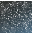 Snowfall gradient pattern vector image