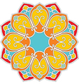 oriental flower pattern vector image