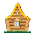 Lodge from tree vector image