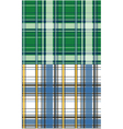 plaid check pattern vector image vector image