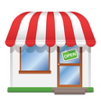 store icon vector image
