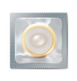 condom wrapper package vector image