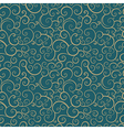 vintage seamless pattern with spiral elements vector image