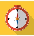 Travel compass graphic icon vector image