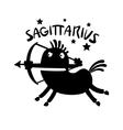 Sagittarius vector image vector image
