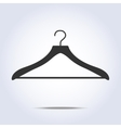 Hanger simple icon in vector image