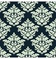 Beige floral damask seamless pattern vector image vector image