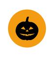Jack-o-lantern pumpkin halloween vector image
