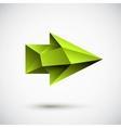 right green light vector image