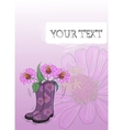 Gumboot Drawing vector image