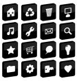 tile icons vector image
