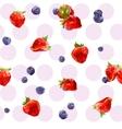 Watercolor berries vector image vector image