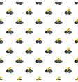 moon pattern seamless vector image