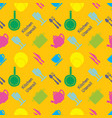 pixel art kitchen utensil pattern vector image