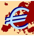 europe currency vector image vector image