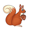A squirrel vector image