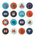 icons gambling in format vector image