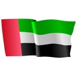 flag of United Arab Emirates vector image vector image