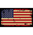 Grunge American Background 2 vector image