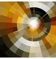 Circle mosaic background vector image vector image