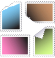 empty stamps vector image