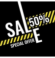 Big sales Trendy modern poster to advertise your vector image