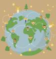 world save vector image
