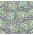 Ornate floral seamless pattern vector image vector image
