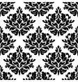 Classic damask floral seamless pattern vector image