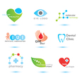 medicine logo vector image