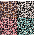 seamless africa animal print vector image