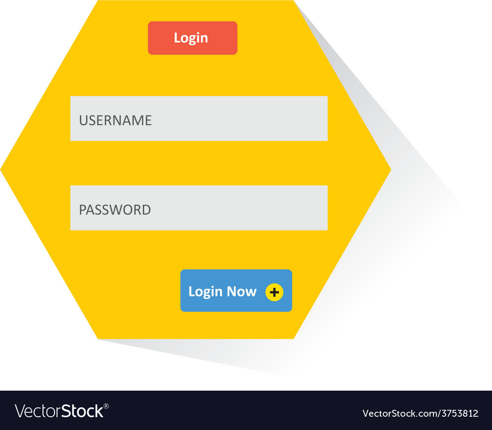 User login 51 vector