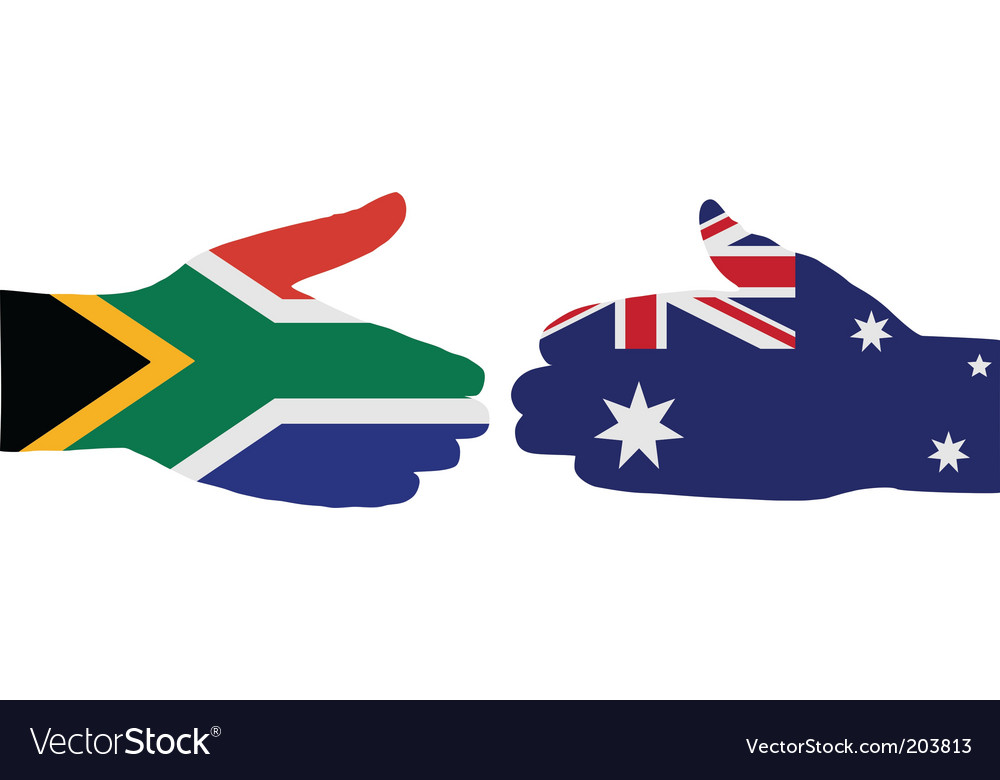 International handshake vector